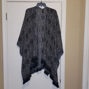 Lane Bryant Batwing open front tunic Size 2X